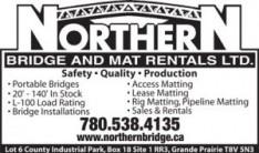 Northern Bridge & Mat Rentals Ltd.