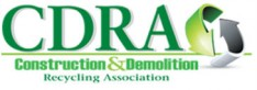 Construction & Demolition Recycling Association (CDRA) Logo