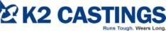 K2 Castings Logo