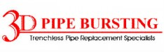 3D Pipe Bursting Logo