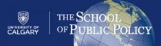 The School of Public Policy - University of Calgary Logo