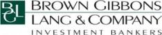 Brown Gibbons Lang & Company