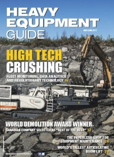 Heavy Equipment Guide Digital Edition - May / June 2017