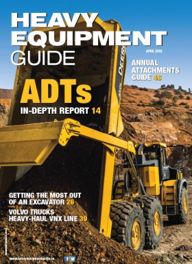 Heavy Equipment Guide Digital Edition - April 2018