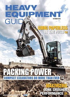 Heavy Equipment Guide Digital Edition - October 2018