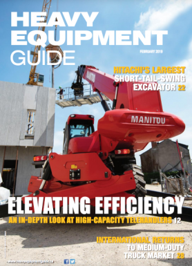 Heavy Equipment Guide Digital Edition - February 2019