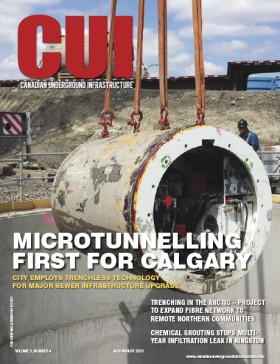 Canadian Underground Infrastructure Digital Edition - July/August 2015