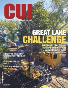 Canadian Underground Infrastructure Digital Edition - May/June 2016