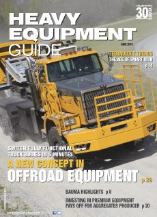 Heavy Equipment Guide Digital Edition - June 2016