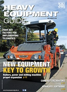 Heavy Equipment Guide Digital Edition - July / August 2016