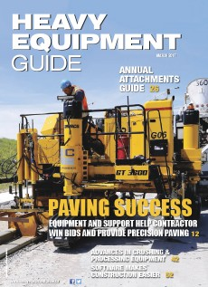 Heavy Equipment Guide Digital Edition - March 2017
