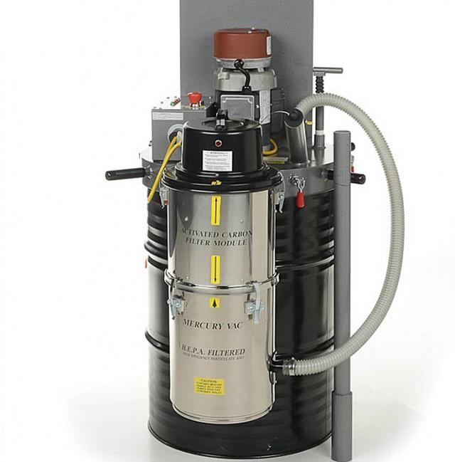Vapor Vacuum Lamp Compactor