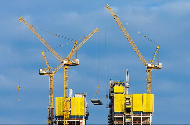 Tower Crane Guide : Ec h litronic tower cranes heavy equipment guide
