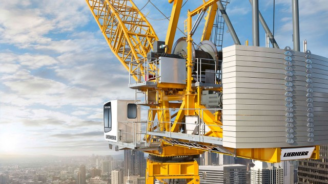 Tower Crane Guide : Hc l luffing jib crane heavy equipment guide
