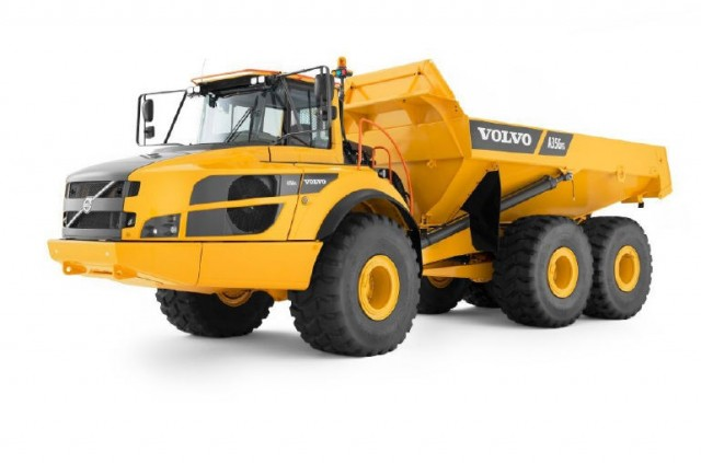 Volvo A60h The Largest Articulated Hauler On The Market