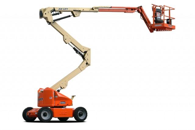 Narrow Articulating Boom Lift : Ajn narrow articulating boom lifts heavy equipment