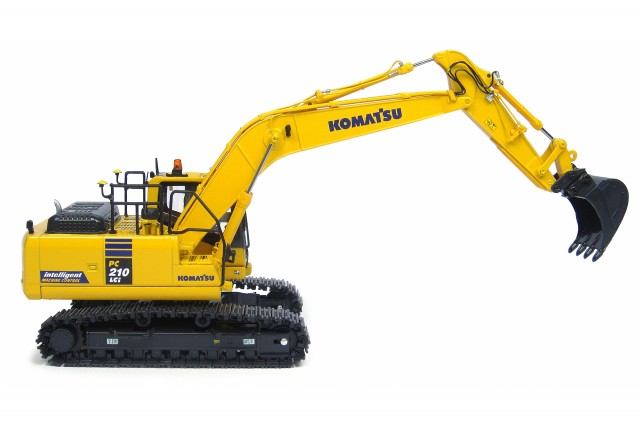 Komatsu Introduces The New Pc490lci 11 Intelligent Machine Control Hydraulic Excavator