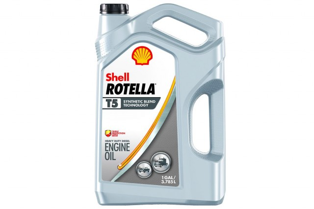 Shell ROTELLA® T5 Synthetic Blend