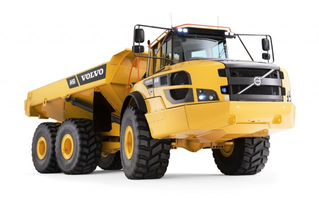 Volvo A25f Articulated Hauler Heavy Equipment Guide