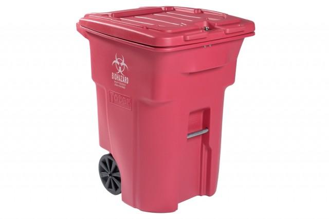 Toter® locking medical waste carts