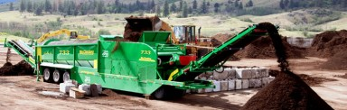 733 Trommel Screener
