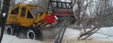 4-Wheel Drive Brush Cutter Tractor