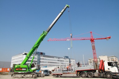 Telescopic Crawler Cranes