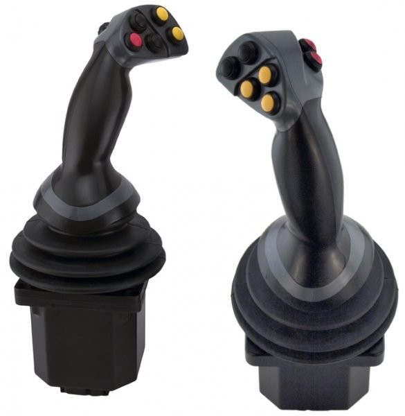 Innovative joystick provides unparalleled machine control
