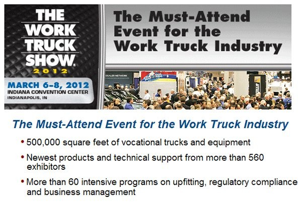 Work Truck Show 2012 App Helps Navigate Sold Out Show
