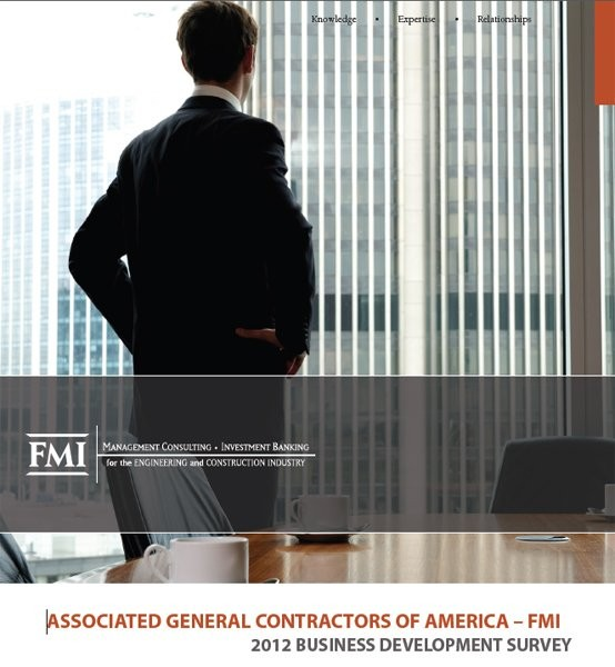 2012 Business Development Survey results for construction and engineering