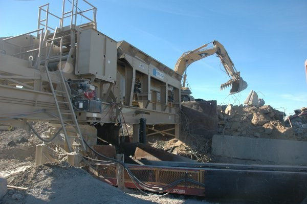 With the emergence of highly portable wheel and track-mounted crushing and screening technologies,  producers can take the equipment to the material.