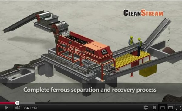 Eriez online video features virtual scrap yard