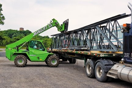 Merlo reduces costs from five men and 30 minutes to one man and 15 minutes