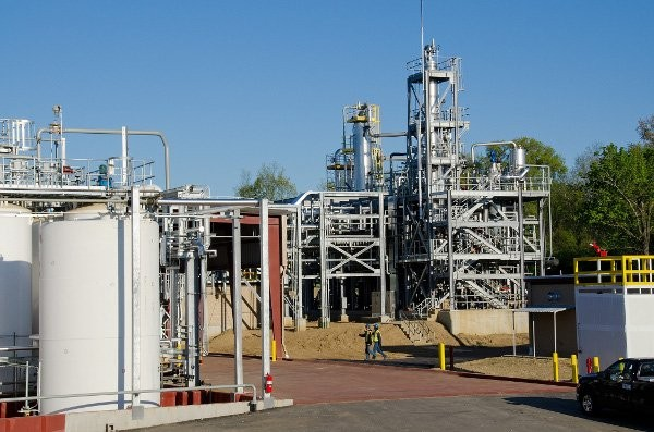Veolia re-opens hazardous materials reclamation facility