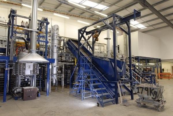 GasPlasma waste to energy plant installed in Swindon, UK by Advanced Plasma Power