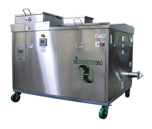 Digester key element of food waste recycling program