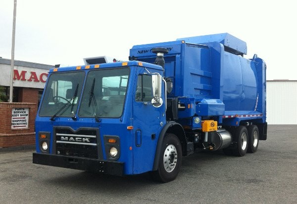 The natural gas powered Terra Pro vehicle is available in Low Entry and Cabover models.