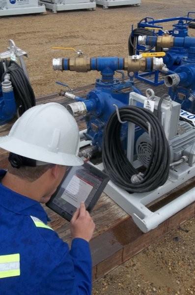 Mobile technologies revolutionize oilfield rental fleet management and maintenance