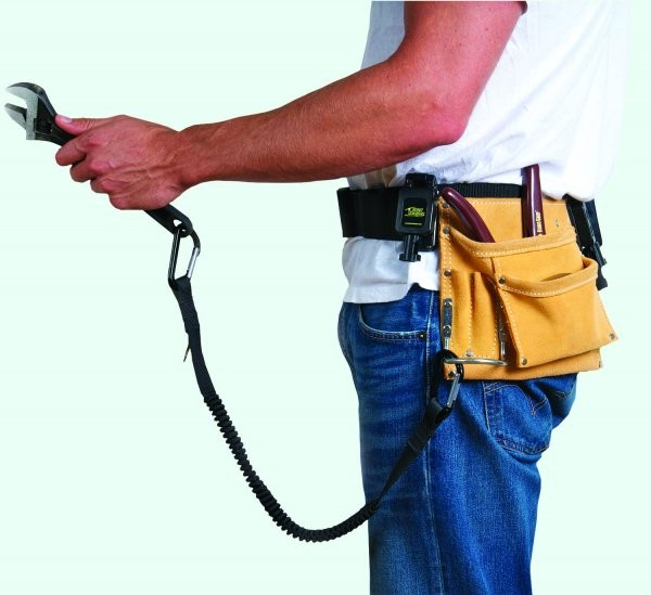 Tool tethers improve productivity and safety