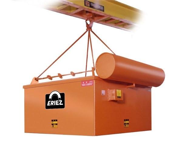 Eriez earns trademark registration for colour orange on suspended electromagnets