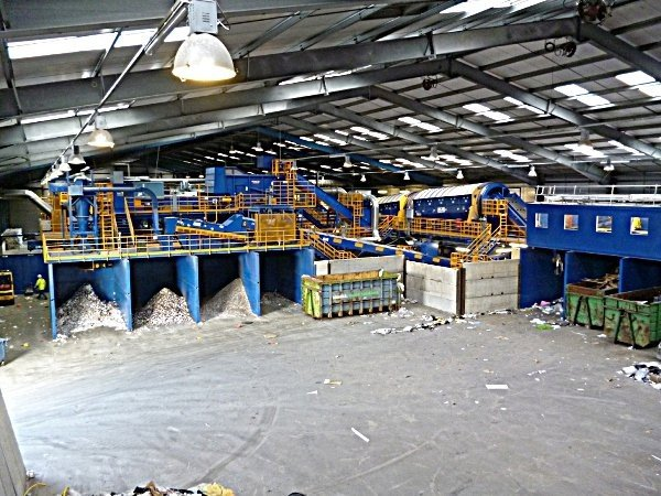 Shanks Waste Management selects Machinex solution for material  separation at UK facility