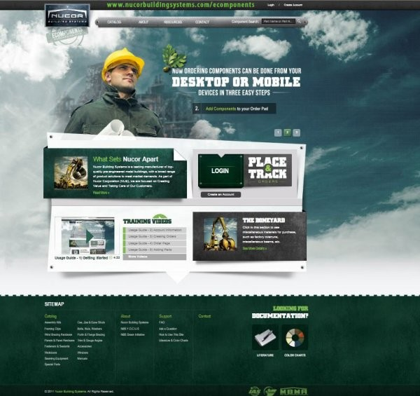 Nucor Building Systems announces launch of eComponents online component purchasing website