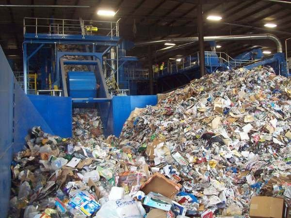 ReCommunity's newly installed CP Group system in Memphis processes glass, aluminum, steel, plastic, newspapers, magazines and cardboard.