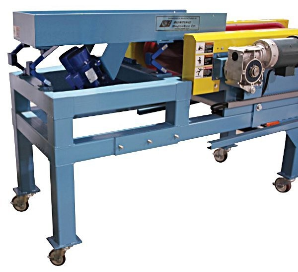 Bunting's line of vibratory feeders for eddy current separators and high-intensity separation conveyors.