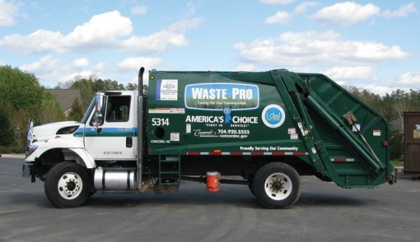 RSC Bio Solutions delivers biodegradable, nonhazardous hydraulic fluid to Waste Pro USA