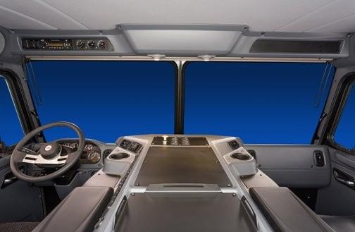 Peterbilt unveils all-new ergonomic, efficient interior for low-cab forward Model 320