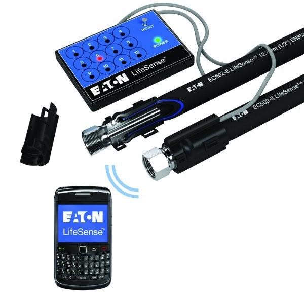 Eaton's LifeSense® hydraulic hose condition monitoring system