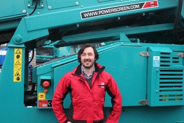 Bison Iron President, Emmett Holland, is Alberta's newest Powerscreen distributor.