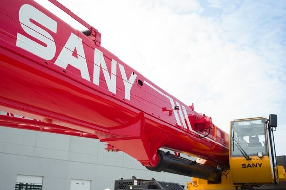 SANY America introduces new equipment models to customers and dealers at open house event