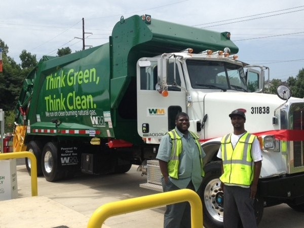 Waste Management opens 50th natural gas fueling station